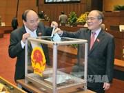 越南国会同意免去阮生雄的国会主席和国家选举委员会主席职务