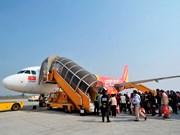 越捷航空公司开通河内市飞往富安省绥和市航线