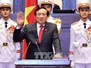 阮和平同志当选最高人民法院院长 邓氏玉盛当选国家副主席