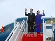 越南国家主席陈大光抵达金边开始对柬埔寨进行国事访问(组图)