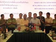 越南清化省与老挝华潘省配合保护边境地区森林资源