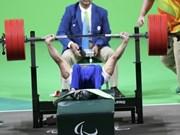 越南举重运动员黎文功在2016年残奥会上夺得金牌(组图)