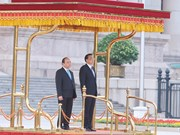 越南政府总理阮春福访华的相关活动(组图)