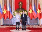 越南与菲律宾发表联合声明
