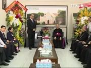 阮善仁同志向越南主教理事会第13次大会致以祝贺