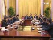 陈大光主席会见日本人民外交促进会主席中垣喜彦