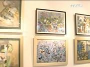 五色组第五次画展  特色作品汇聚