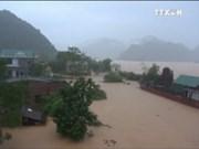 越南中部四省遭洪水袭击 致15死亡