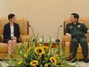 越美举行第七次国防政策对话