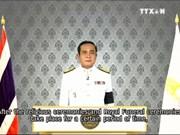 泰国总理称国丧期政府活动照常