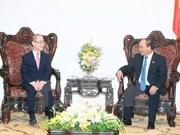 越南政府总理阮春福会见政府间气候变化专门委员会主席