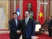 越南高级领导分别会见通伦•西苏里总理