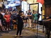 热闹河内古街的音乐(组图)