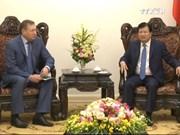 郑廷勇副总理会见俄罗斯扎鲁别日石油公司总经理
