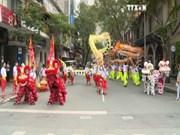 2016年第一次麟师龙舞联欢会在胡志明市举行