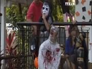 菲律宾独特的万圣节装扮