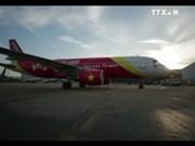 越捷航空公司开通胡志明市至台湾新航线