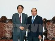 阮春福总理会见日本新任驻越大使梅田邦夫