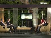 埃及尼罗河电视台播放介绍越南风土人情的直播节目