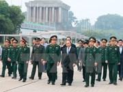 胡志明主席陵墓完成长达3个月的维修保养   明天(12月6日)开始对外开放