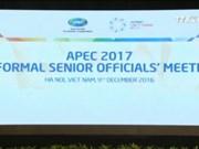 亚太经合组织非正式高官会在河内拉开序幕