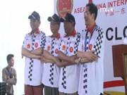2016年东盟-中国国际汽车拉力赛雅加达收车