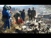 印尼空军运输机坠毁 致使13人死亡