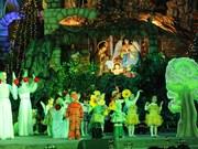 越南首都河内居民喜迎圣诞(组图)