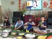 旅居泰国越南人社团温暖迎丁酉新春(组图)