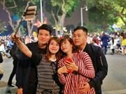 越南河内居民喜迎2017丁酉鸡年春节到来(组图)
