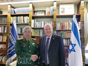 越南国防部副部长阮志咏会见以色列总统鲁文·里夫林