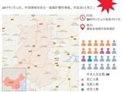 中国湖南煤矿爆炸事故9人遇难