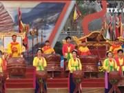 广宁省翁门祠庙会被授予国家级非物质文化遗产证书