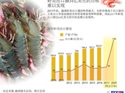 虾类出口额34亿美元的目标难以实现
