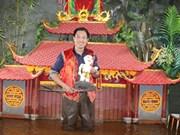 越南小舞台水上木偶戏模式亮相美国