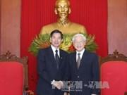 越南党和政府领导人的对外活动(组图)