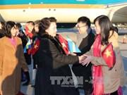 国会主席阮氏金银对瑞典进行正式访问(组图)