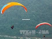 2017年蔻帕滑翔伞大赛在安沛省举行