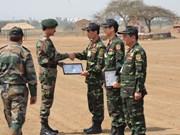 提高越南在维和工作的国际地位