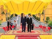捷克共和国总统米洛什·泽曼对越南进行国事访问(组图)