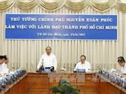 阮春福总理:胡志明市应为有抱负的创业者提供便利的创业环境