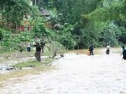 越南北部地区各省洪水灾害致12人死亡