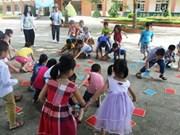 韩国志愿者在乂安省展开志愿活动 搭建两国友谊桥梁
