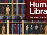 """""""真人图书馆""""为读者提供与真人书面对面交流机会"""