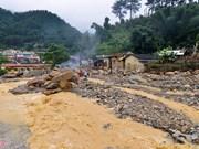 越南北部暴雨洪灾造成26人死亡 15人失踪