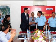 第二批清洁土地交接签字仪式在岘港市举行