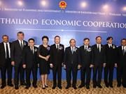 阮春福总理出席越泰经济合作论坛 会见泰国大型集团领导(组图)