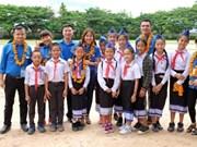 越南首都河内青年培育越老特殊团结友好关系