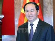 越南国家主席陈大光:朝着提质、增效、务实方向推动越老特殊关系迈上新高度