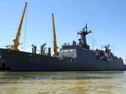 韩国两艘军舰访问岘港(组图)